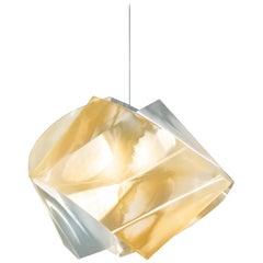 SLAMP Gemmy Pendant Light in Gold by Spalletta, Croce, Ragnisco & Wijffels