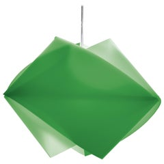 SLAMP Gemmy Pendant Light in Green by Spalletta, Croce, Ragnisco & Wijffels