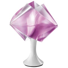 Slamp Gemmy Table Light in Amethyst by Spalletta, Croce, Ragnisco & Wijffels