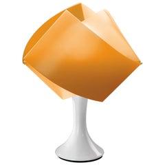 SLAMP Gemmy Table Light in Orange by Spalletta, Croce, Ragnisco & Wijffels
