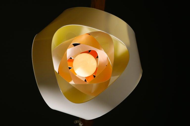 Modern SLAMP Goccia Pendant Light in Fire by Nigel Coates For Sale