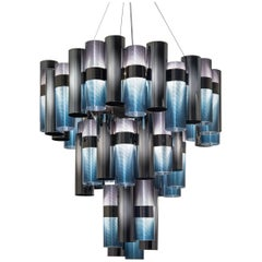 SLAMP La Lollo Extra Large Pendant Light in Gradient by Lorenza Bozzoli