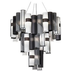 SLAMP La Lollo Extra Large Pendant Light in Mackintosh by Lorenza Bozzoli