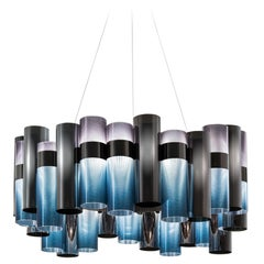 SLAMP La Lollo Large Pendant Light in Gradient by Lorenza Bozzoli