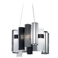 SLAMP La Lollo Medium Pendant Light in Mackintosh by Lorenza Bozzoli