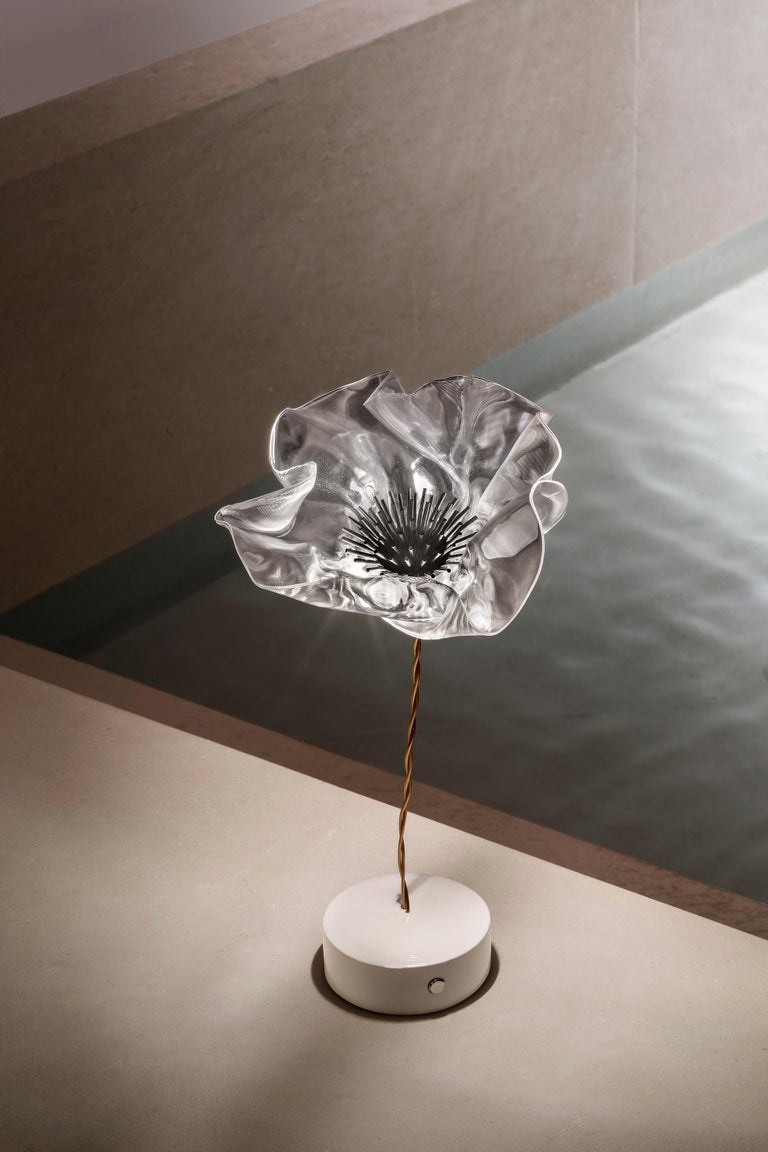 Plastic Slamp Lafleur Battery Table Lamp by Marc Sadler For Sale