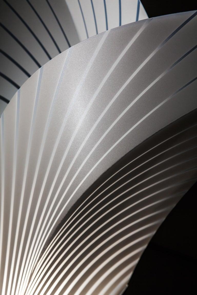 Italian SLAMP Las Palmas Extra Large Floor Light in White by Jonas Clementoni For Sale