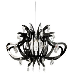 SLAMP Lillibet Pendant Light in Black by Nigel Coates