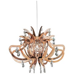 SLAMP Lillibet Pendant Light in Copper by Nigel Coates