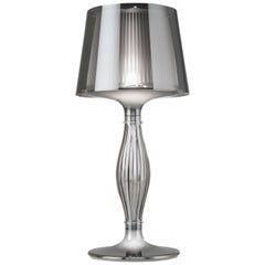 SLAMP Liza Table Light in Pewter by Elisa Giovannoni
