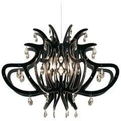 Slamp Medusa Pendant Light in Black by Nigel Coates