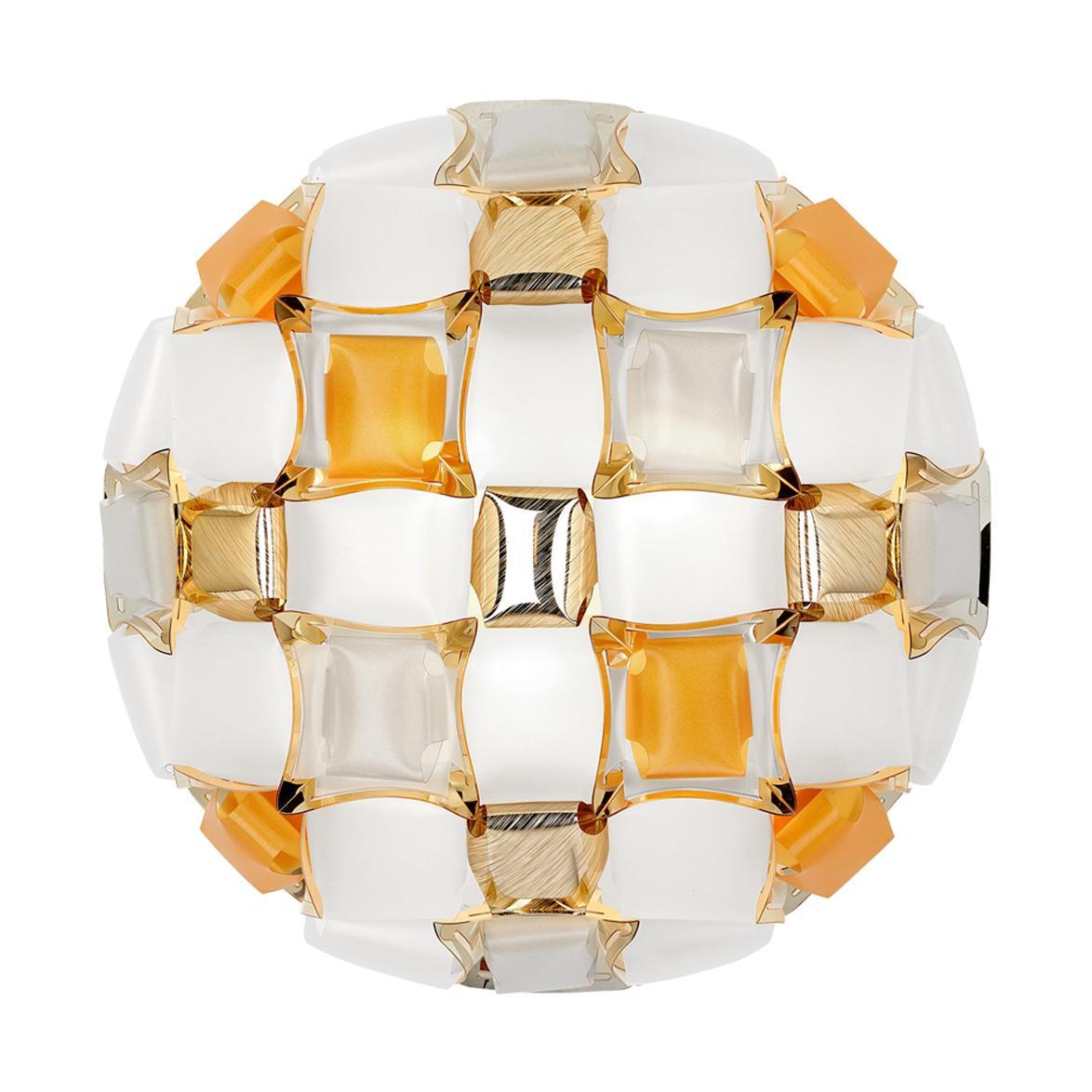 Slamp Mida Wall/Ceiling Light Amber by Adriano Rachele