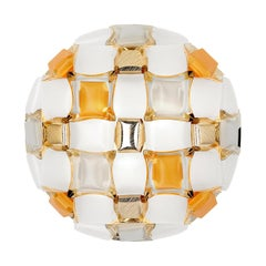 Slamp Mida Wall/Ceiling Light Amber by Adriano Rachele