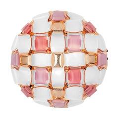 Slamp Mida Wall/Ceiling Light Rose by Adriano Rachele