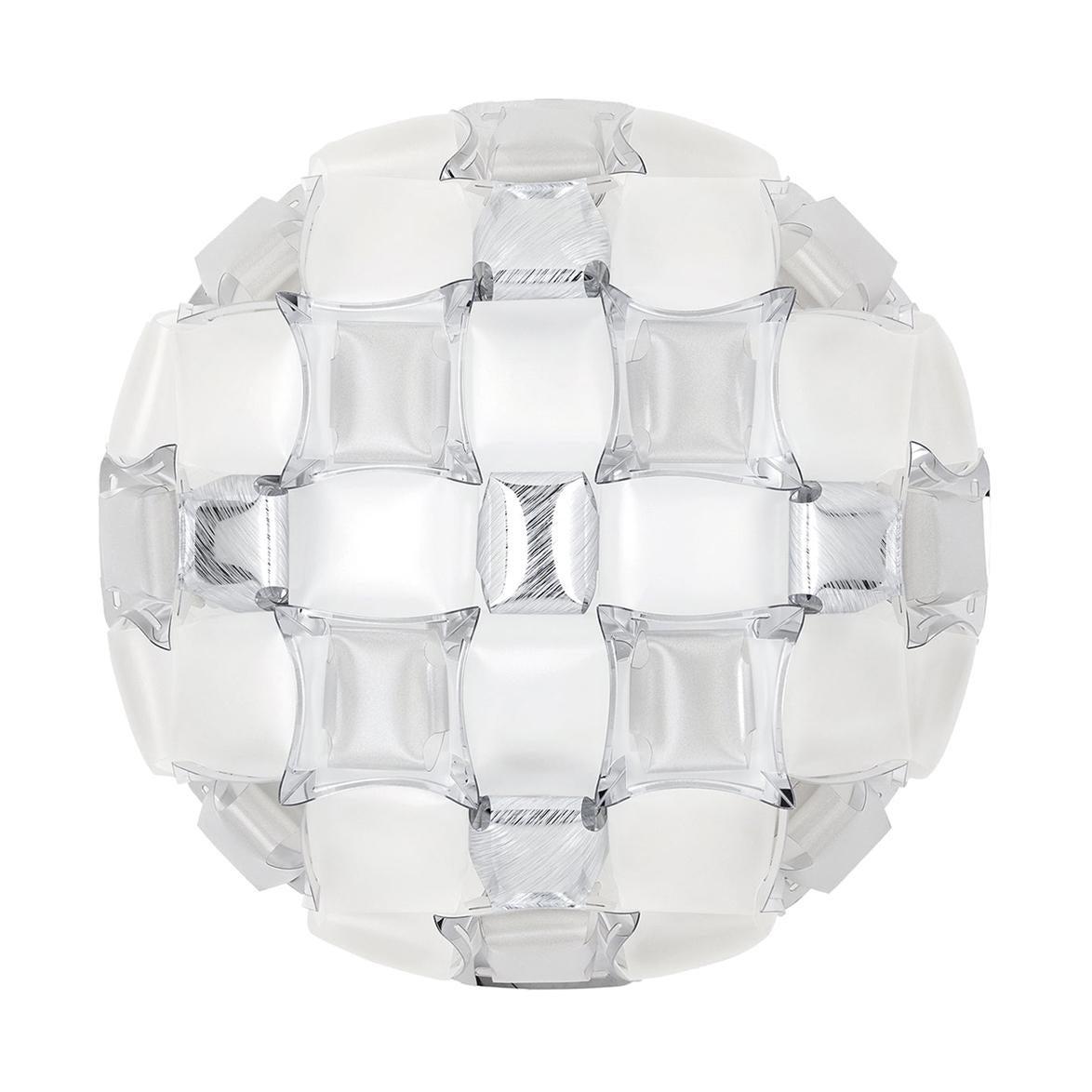 Slamp Mida Wall/Ceiling Light White Platinum by Adriano Rachele