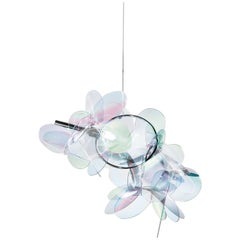 Slamp Mille Bolle Pendant Light in Iridescent by Adriano Rachele