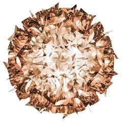 Slamp Veli Large Flush Light in Copper by Adriano Rachele