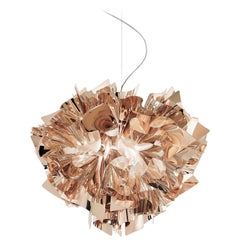 SLAMP Veli Medium Suspension Light in Copper by Adriano Rachele