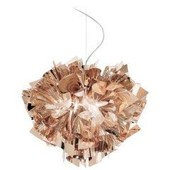 SLAMP Veli Medium Suspension Light in Copper by Adriano Rachele