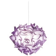 SLAMP Veli Medium Suspension Light in Plum by Adriano Rachele