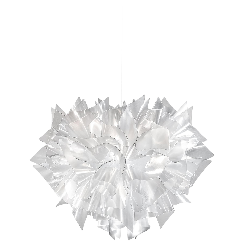 SLAMP Veli Medium Suspension Light in Prisma by Adriano Rachele