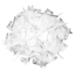 SLAMP Veli Mini Flush Light in Opal by Adriano Rachele