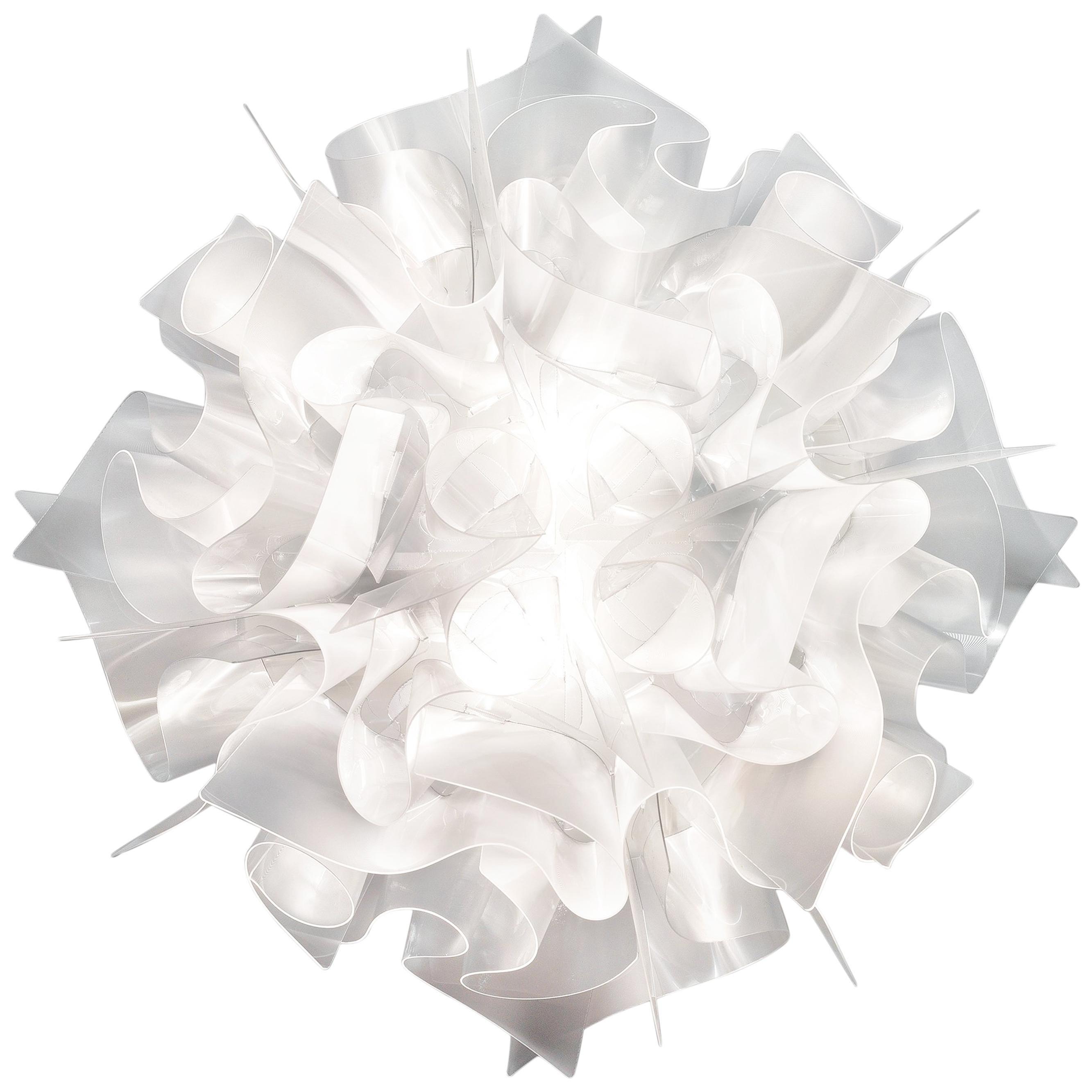 SLAMP Veli Mini Flush Light in Prisma by Adriano Rachele