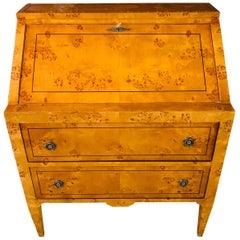 Slanted Flaps Secretary Writing Cabinet Writing Cabinet Biedermeier Style