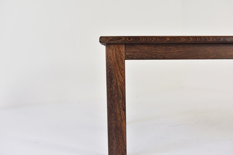 Slat Bench or Coffee Table in Ash and Wenge Dating from the 1960's For Sale 1