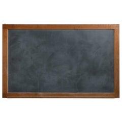 Slate Chalkboard with Oak Frame, America, 20th Century