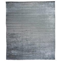 Slate Lorri Buff Wool Area Rug