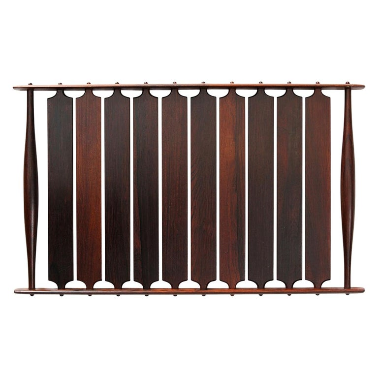 Slatted Rosewood Tray by Jens Quistgaard For Sale