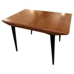 Sleek Great Apartment Size British G Plan Mid-Century Modern Dining Table