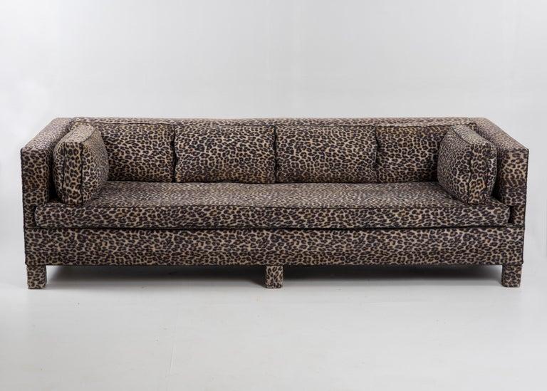 Sleek Mid-Century Modern Moviestar Sofa by Billy Baldwin For Sale 4