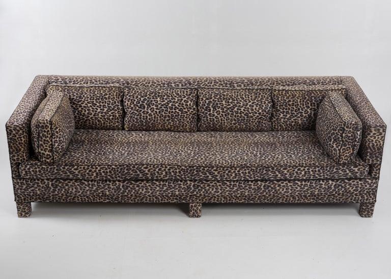 Sleek Mid-Century Modern Moviestar Sofa by Billy Baldwin For Sale 5