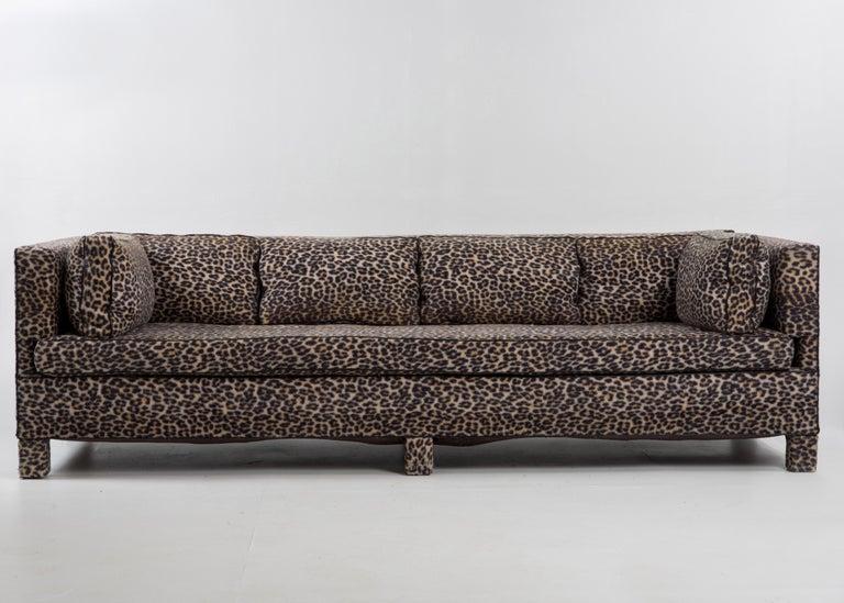 Sleek Mid-Century Modern Moviestar Sofa by Billy Baldwin For Sale 7