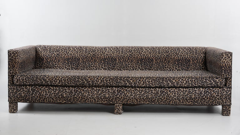American Sleek Mid-Century Modern Moviestar Sofa by Billy Baldwin For Sale