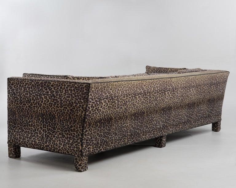 Upholstery Sleek Mid-Century Modern Moviestar Sofa by Billy Baldwin For Sale
