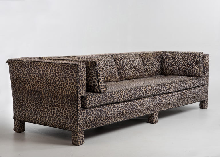 Sleek Mid-Century Modern Moviestar Sofa by Billy Baldwin For Sale 1