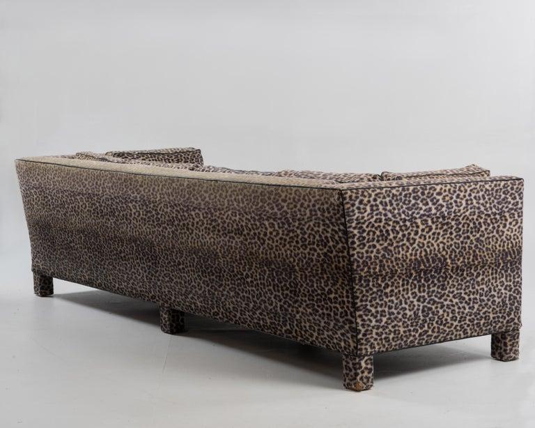 Sleek Mid-Century Modern Moviestar Sofa by Billy Baldwin For Sale 3