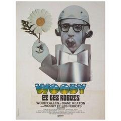 'Sleeper' 1973 French Moyenne Film Poster