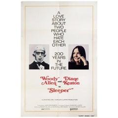 """""""Sleeper"""" 1973 U.S. One Sheet Film Poster"""