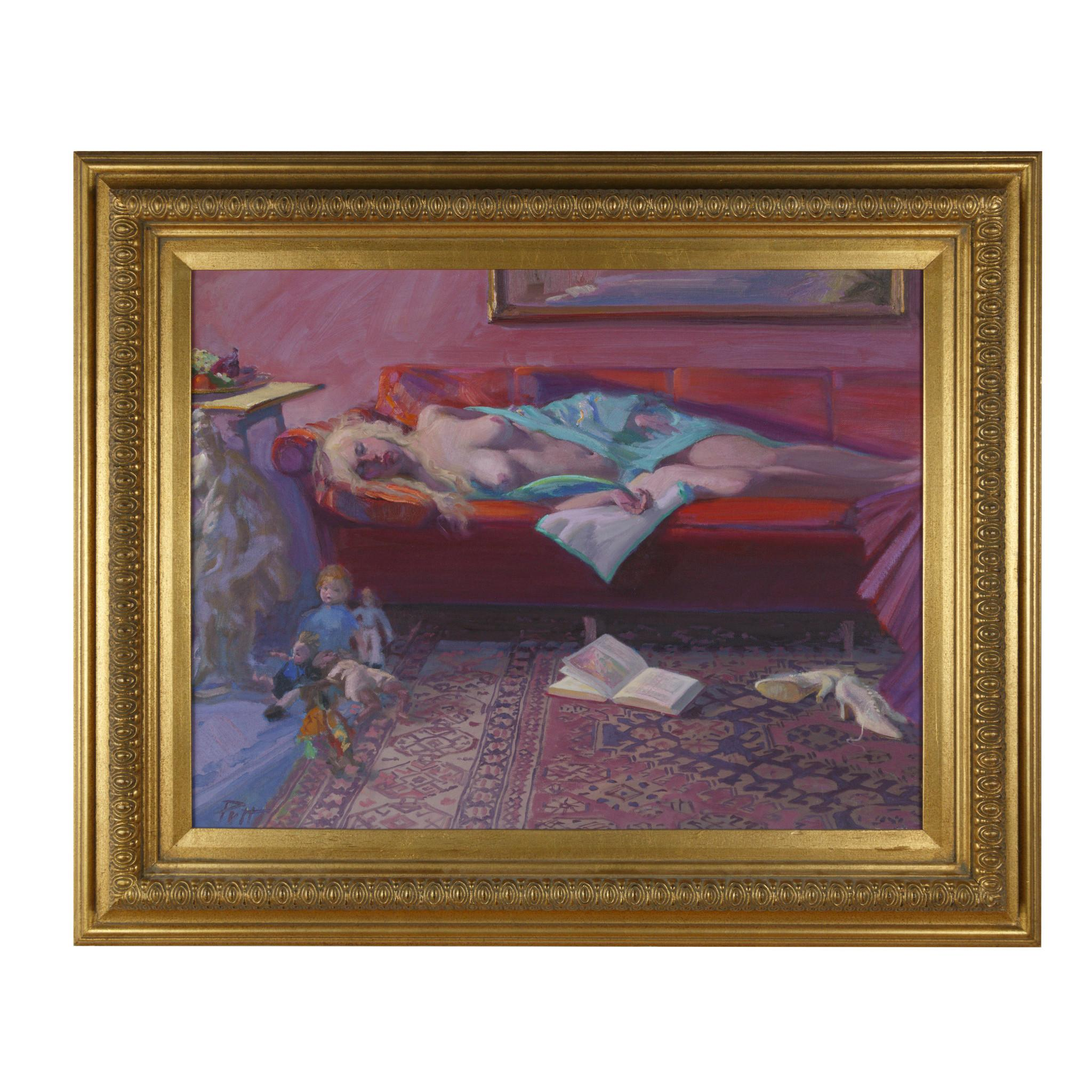 """Sleeping Beauty"" Original Painting by Donald Putnam"