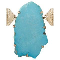 Sleeping Beauty Turquoise Necklace Pendant
