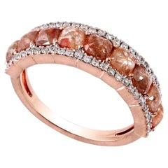 Slice Diamond 18 Karat Gold Engagement Ring