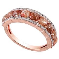 Slice Diamond 18 Karat Gold Ring