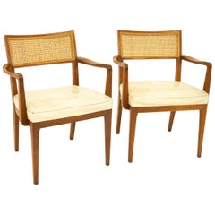 Sligh Furniture Midcentury Dining Chairs, Pair