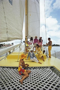 'A Colourful Crew' Slim Aarons Limited Estate Edition