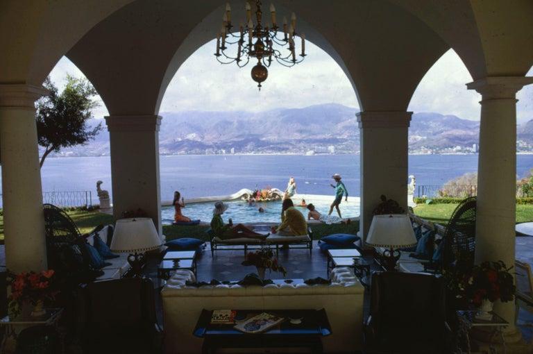 Slim Aarons Landscape Photograph - Acapulco Villa