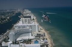 'Aerial Miami Beach' 1972 Slim Aarons Limited Estate Edition